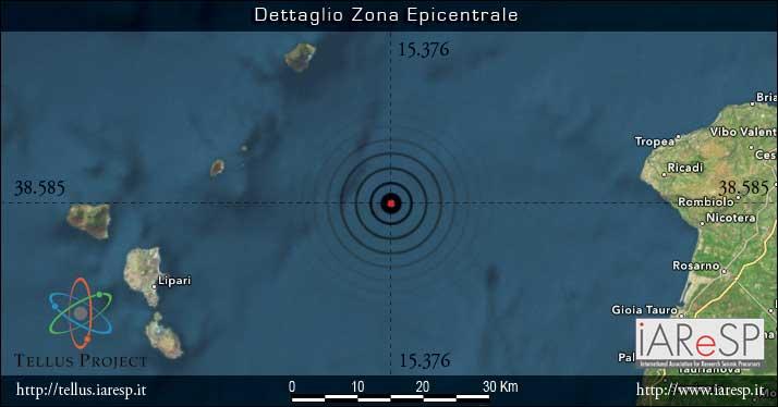 Terremoto M 4.5 - 09/05/2015 - ore 08:22 UTC - Sicilia - Isole Eolie (ME)
