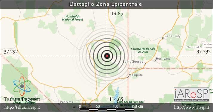 Terremoto Mw 5.3 - 22/05/2015 - ore 18:47 UTC - Stati Uniti - Caliente, NV