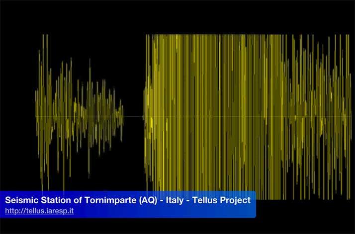 Terremoto M 3.4 - 18/01/2016 - ore 10:37 UTC - Abruzzo - Capitignano (AQ)