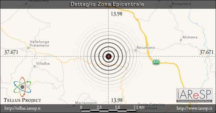 Terremoto Sicilia : scossa ben avvertita fra Enna, Resuttano, Blufi, Leonforte, Gangi, Caltanissetta, Nicosia 232
